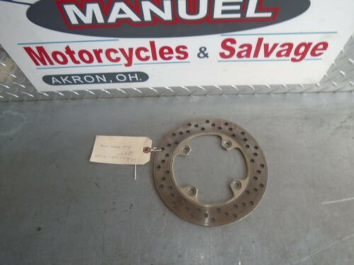 03 KAWASAKI ZX9R REAR BRAKE ROTOR VERY SMOOTH FREE SHIPPING