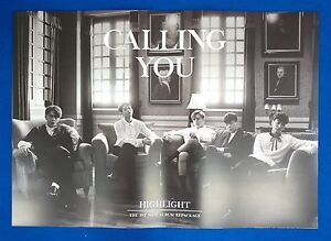 Highlight-Calling-You-Repackaage-Ver-2-Official-Unfolded-Posters-New-K-POP