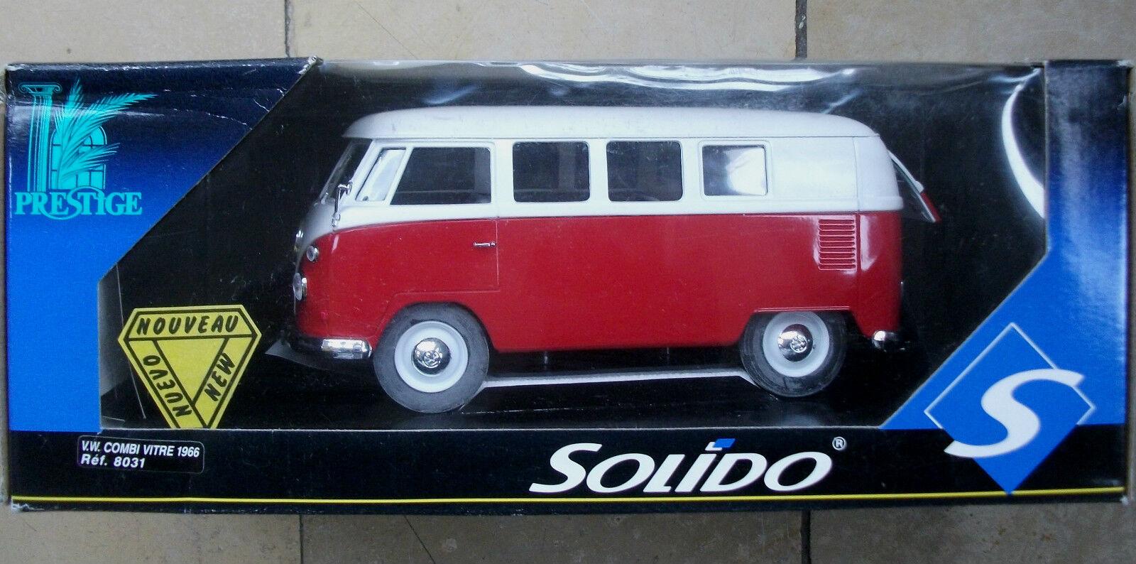 Solido Prestige metal 8031 1 19 VW Combi 1966 descubrimos autobús t1 nuevo