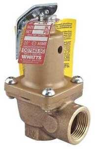 WATTS-3-4-174A-050-Safety-Relief-Valve-3-4-In-50-psi-Bronze