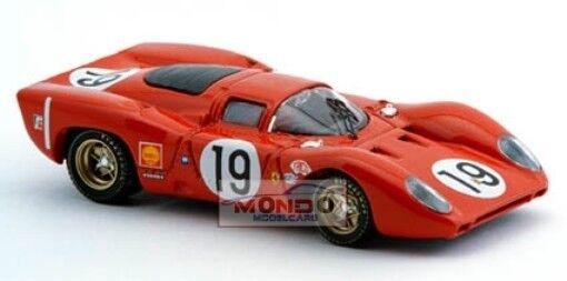 Ferrari 312 P 1969 Le Mans 1 43 Best Be9152 Modellino Auto Diecast