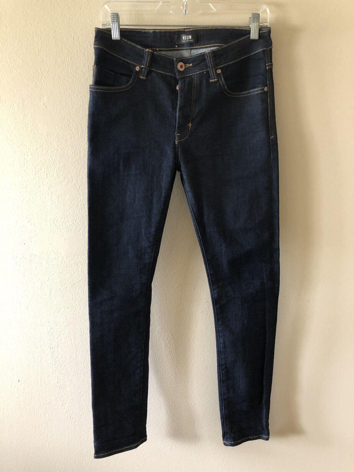 Mens NEUW Iggy Skinny Jeans Size 28 x 31