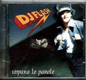 DJ FLASH IMPARA LE PAROLE CD SEALED HIP HOP ITALY