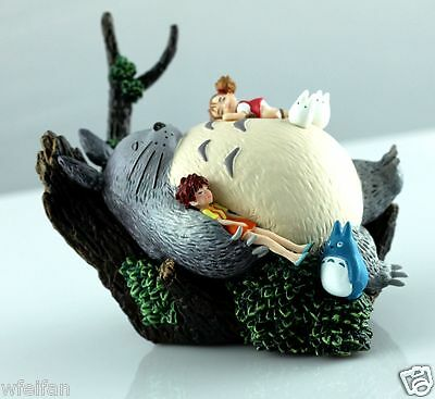 STUDIO GHIBLI Classic My Neighbor Totoro Figures Scene Figurine in box