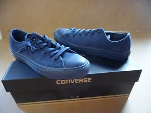 f2ccc3a2cf0d Image is loading Converse-Chuck-Taylor-All-Stars-Navy-Blue-Suede-