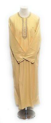 Men's Clothing Other Men's Clothing Men Moroccan Long Sleeves Thobe/jubba/kandorah.dishdash.djelleba .size 56to 62