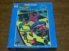 Vinatge Marvel Puzzle 70's Spider Man 200 Piece 1976 Whitman Complete