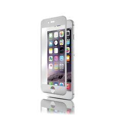 iPhone 6 Plus 6+ Tempered Glass Protector Case Full Edge Curved Titanium Silver