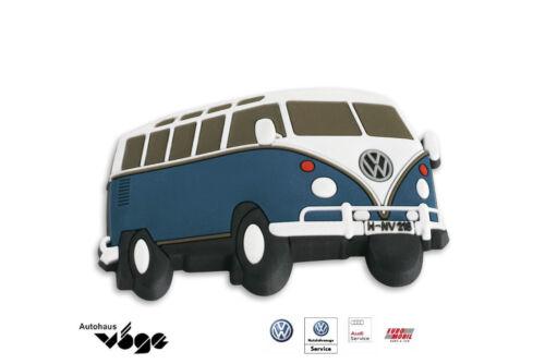 Oldtimer Original VW T1 Magnet Blau Volkswagen Nutzfahrzeuge Magnet