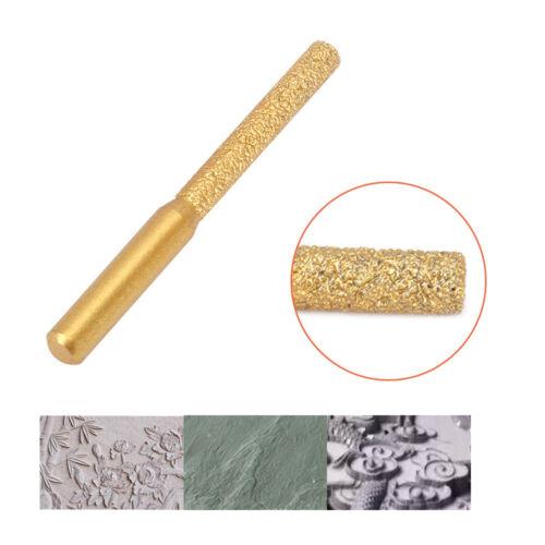 """6.35 mm Fraises Diamant Profil roue Routeur Bit Avec Marbre Granite 1//4/"""" tige"""