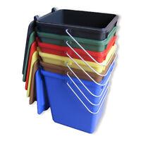 Neu Futtertonne Plastikeimer Tierfutter Box Behälter Mit Deckel 10 Liter Bunt