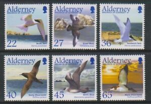 Alderney-2003-Migrating-Voegel-Seabirds-2nd-Serie-Set-MNH-Sg-A210-15