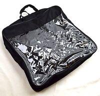 Briefcase Pvc Bag Clear Zippered Bag 16 X 3.5 - 2 Each