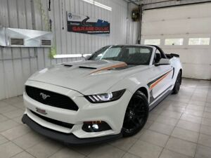 2017 Ford Mustang V6 CONVERTIBLE - CUIR - UNIQUE - BAS KM - SHOWROOM