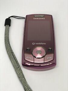 Samsung SGH J700-Rose (Débloqué) Téléphone Portable (non testés vous n'êtes pas sûr si elle fonctionne)