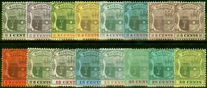 Mauritius 1900-05 Set of 16 to 50c SG138-152 Good to Fine Mtd Mint