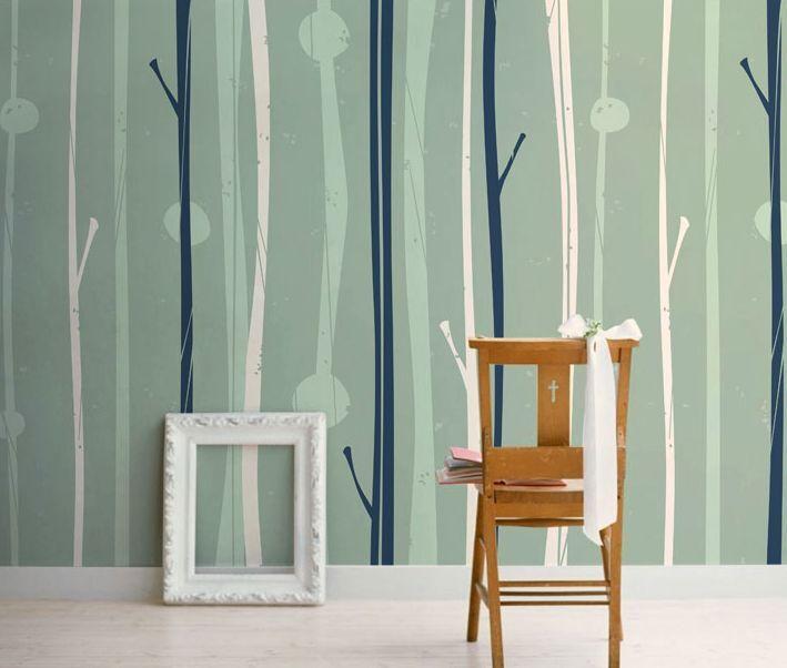 3D Fresh Elegant lines Wall Paper Wall Print Decal Wall Deco Indoor wall Murals