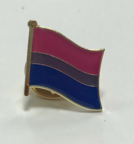 TRANSGENDER TRANS ENAMEL LGBT PRIDE FLAG LAPEL PINS BI CHARITY GAY