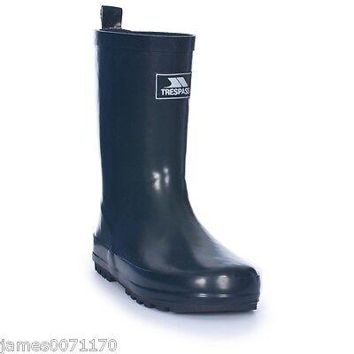 Kids wellies boys wellington boots girls waterproof snow rain  9 10 11 12 13 1 2