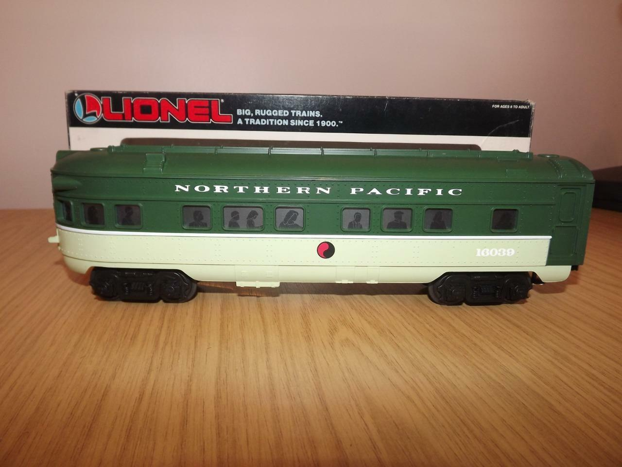 Ab324: Lionel O Gauge Northern Pacific Observation Car 6-16039 - Exc/Boxed