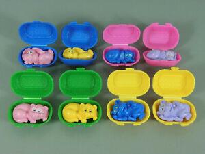 Juguete-Animales-en-Cesta-Eu-1995-Set-Completo-Todos-Variantes