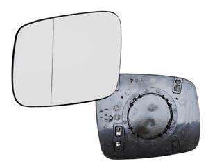 Spiegelglas-fuer-VW-T4-BUS-TRANSPORTER-links-ASPHARISCHGLAS-Aussenspiegel-HEIZUNG
