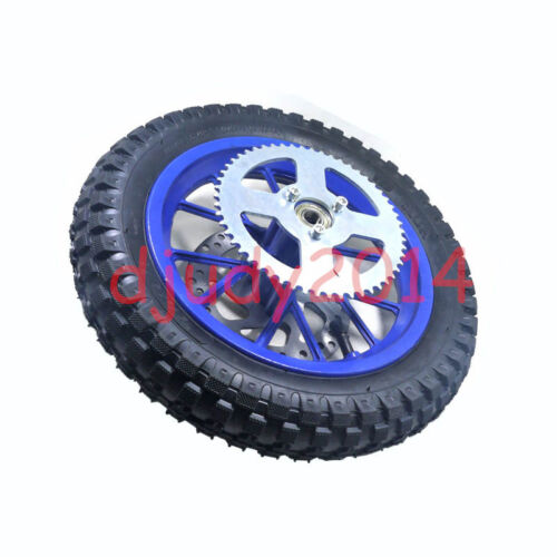 Mini Moto Pocket Bike Rear Wheel Disc Brake Rotor With Tyre 12.5-2.75 Inner Tube