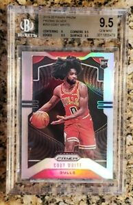 2019-20-Panini-Prizm-Coby-White-RC-Rookie-Silver-Prizm-Refractor-BGS-9-5