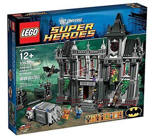 LEGO 10937 Batman Arkham ASSYLUM, Nuovo di zecca fabbrica sigillato ridotto.