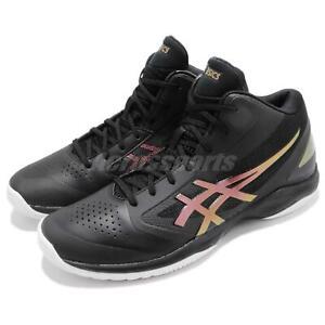 2d35f053702f Asics Gel-Hoop V 10 Wide Black Prism Fire Red Men Basketball Shoes ...