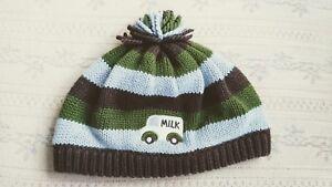 Gymboree-Milk-Truck-Hat-Boys-Size-6-12-Months-Very-Cute