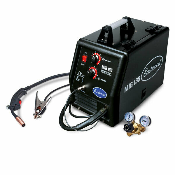 Eastwood Flux Core MIG Welder Machine Tool 110VAC 135A Output Tweco Style Gun. Buy it now for 395.99