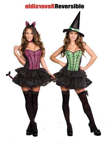 Dreamgirl Reversible Under My Spell Costume PLUS SIZES AVAILABLE!