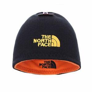The North Face Knit Skull Cap Unisex Reversible Beanie Fleece Hat  522db8f028c