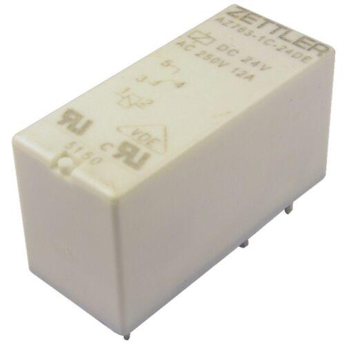 ZETTLER AZ763-1C-24DE Relais 24V DC 1xUM 12A 1440R Power Relay 855086