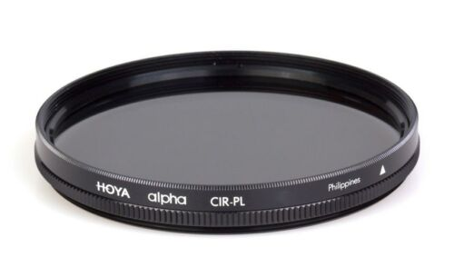 Hoya 72mm ALPHA Circular Polarizer CPL CRPL Cir-PL Glass Filter Brand New