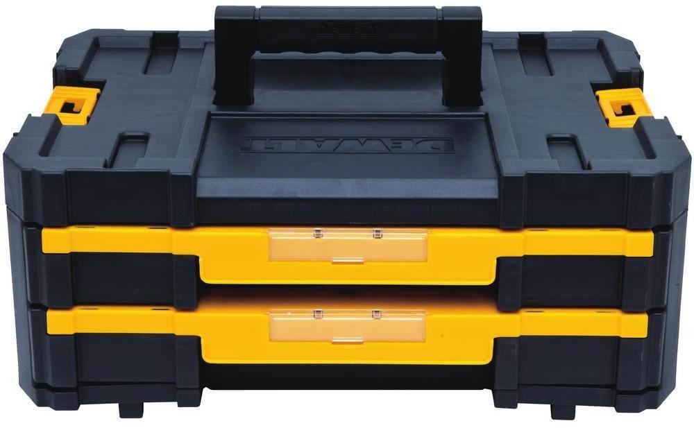DEWALT Deep Tool Box Storage Small Parts Parts Parts Organizer Portable Drawers Combo Set 44ef95