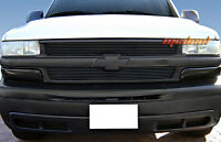Billet Grille 99-02 Chevy Silverado 1500/00-06 Tahoe/suburban 2pc Bolton Black on sale
