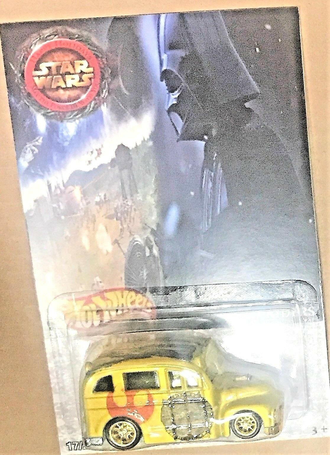 Hot Wheels Escuela Busted Star Wars Real Rider Edición Limitada Hot Wheels 1/25