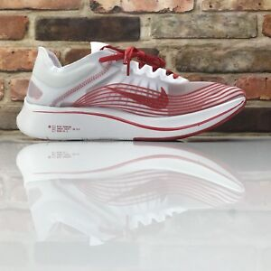 0988fd126997 Nike Zoom Fly SP Running Racing Shoes Mens Size 11.5 Red AJ9282 100 ...