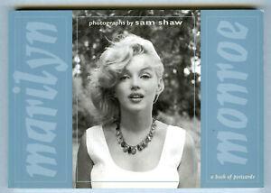 Marilyn-Monroe-Photographs-Book-Of-Postcards-1990-Portfolio-Of-30-Cards