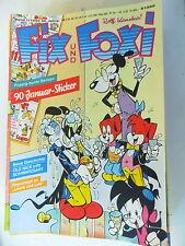 23 x Fix und Foxi - Sammlung 38. Jahrgang - Rolf Kauka - Z. 1-2