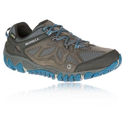 Merrell All Out Blaze Ventilator Hombre Gris Azul Gore Tex Andar Deporte Zapatos