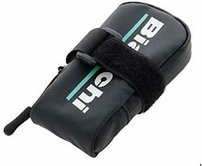 "5 1//2/"" long x 3 3//4/"" tall x 1 1//2/"" wide BIANCHI Saddle Bag Seat Bags Black"