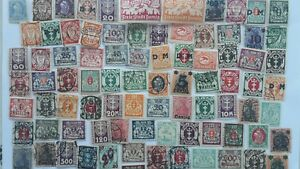 100 Different German States - Danzig Stamp Collection