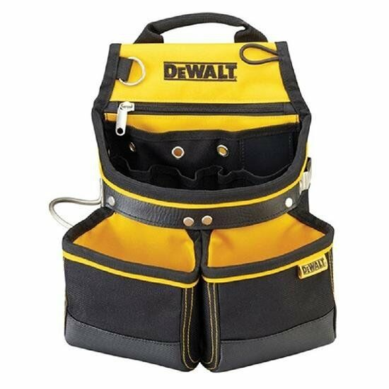 DeWALT DWST80907-8   Work Hammer Hand Tool & Nail Bag Pouch Organizer