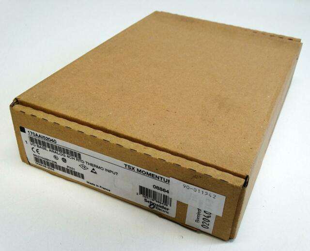 Schneider TSX Momentum 170AAI52040 I/O Base Analog 4CH RTD Thermo Input -sealed-