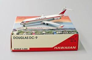 Hawaiian DC9-30 Reg: N903H Net Models Scale 1:400 Diecast models