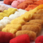Multicolor sets of New Zealand Sheep Carded Wool for Felting 1-6 oz / 30-180 gr