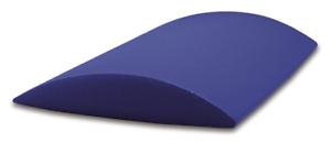 Cuneo lombare in vinile imbottito CORSPORT pilates yoga 34x28x5,5 cm equilibrio